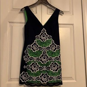 NWT Lilly Pulitzer Jungle Flowers Embroidery Dress